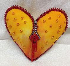 Stuffed heart by AK Icecube
