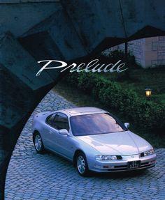 Honda Prelude Mk4 Japan Brochure 1994