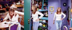 Rachel Green / Jennifer Aniston Fashion Tv, Green Fashion, Rachel Green Style, Jennifer Aniston, Friends, Coat, How To Wear, Jackets, Outfits