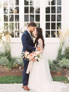 Elegant and Organic Wedding | Roots Floral Design