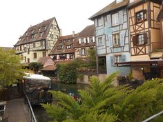 Petite Venise (little Venice) in Colmar, France. This is tied to the Trip Advisor page for this location. Alsace, Trip Advisor, The Good Place, Photos, Mansions, House Styles, Amazing Places, Travel, Things To Make