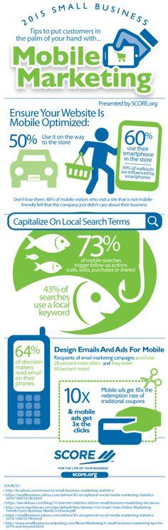 #Mobile #Marketing: Tips to put customers in the palm of your hand #Infographic