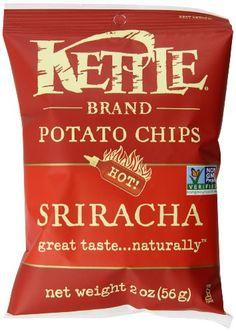 Kettle Brand Potato Chips Caddy, Sriracha, 2-Ounce Bags, 6 Count Kettle Brand http://smile.amazon.com/dp/B00HQDVXVE/ref=cm_sw_r_pi_dp_QzOxwb1Q1PXAA