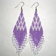 Image result for brick stitch earrings