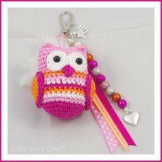 Cute uiltje Crochet, Christmas Ornaments, Holiday Decor, Home Decor, Meet, Tricot, Decoration Home, Room Decor, Christmas Jewelry