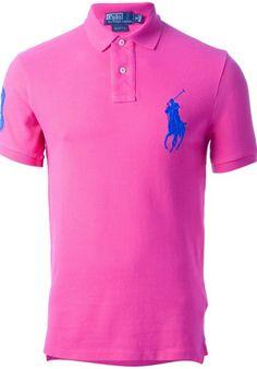 Polo shirt RALPH LAUREN BLUE - Alducadaosta.com