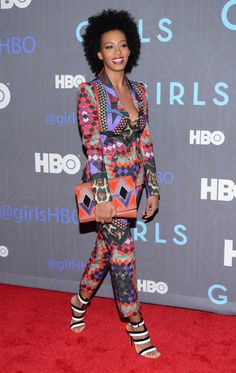"Solange Knowles Photo - HBO Hosts The Premiere Of ""Girls"" Season 2 - Arrivals"