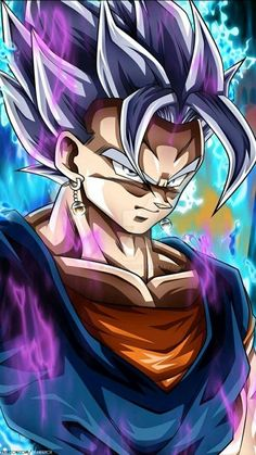 Vegetto UI Mastered by Maniaxoi on DeviantArt Dragon Ball Gt, Dragon Ball Image, Dragon Z, Photo Dragon, Dragon Super, Goku Wallpaper, Ball Drawing, Chibi, Otaku
