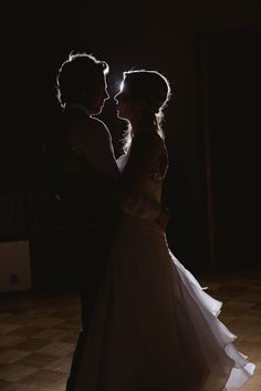love the dark lighting in this one! silhouette look