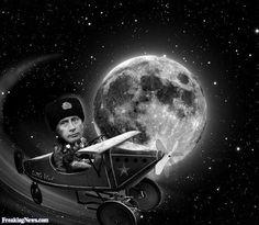 O Homem esteve na Lua? Graças aos Internautas Céticos Russos darão a Resposta!