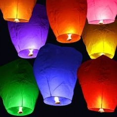we want these to set free in memory of our loved ones on anniversaries
