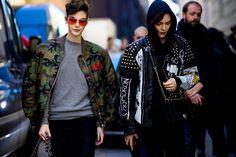 Streetstyle Fashion Week in Milan.  Part 2