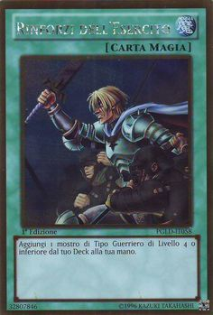 YU-GI-OH! RINFORZI DELL'ESERCITO PGLD-IT058 GOLD THE REAL_DEAL SHOP