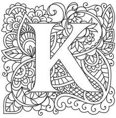 150 best a coloring letters images on pinterest alphabet