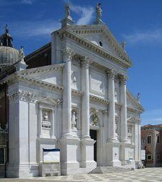 Church of San Giorgio Maggiore interior images | Palladio San Giorgio Maggiore facade