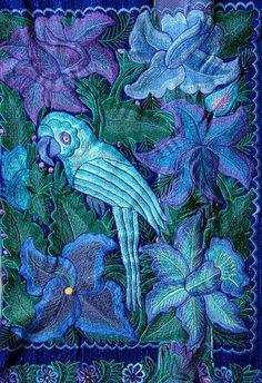 mexican mayan cape embroidered chiapas | ... cape made for the 2007 San Lorenzo fiesta in Zinacantan Chiapas Mexico