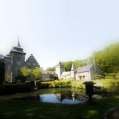 Het Château de la Rocq-Arquennes, een bijzonder kasteel nabij Brussel