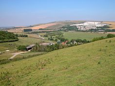 Sussex Downs from Coombes by Segovia 37, via Flickr