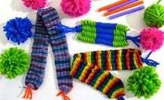 Cassie Stephens: The Weaving Series: Straw Loom Weaving