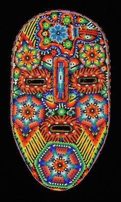 Indigo Arts Gallery | Huichol Indian Masks from Mexico
