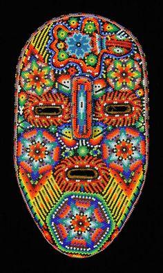 Indigo Arts Gallery   Huichol Indian Masks from Mexico