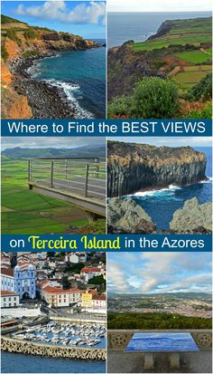 Where to find the best views on Terceira Island in the Azores, Portugal. Such a gorgeous island!