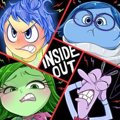 INSIDE OUT! -anger- by hentaib2319.deviantart.com on @DeviantArt