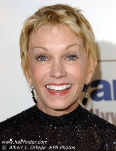 Sandy Duncan -  singer, dancer, comedienne and actress of stage and television, recognized through a blonde, pixie cut hairstyle and perky demeanor. Henderson, TX