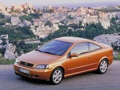 Opel Astra Coupe (G) '2000–04