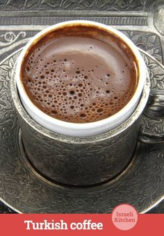 Forget drip coffee and leave the cold brewing to the Arctic ... Here's how to start your morning the Mediterranean way. #turkishcoffee #recipe #israelikitchen