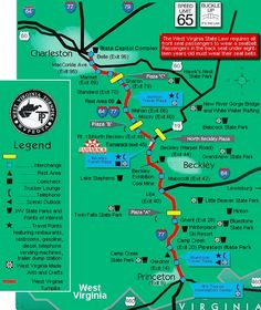 I 77 West Virginia Map.41 Best West Virginia Turnpike I 77 Images West Virginia Turnpike