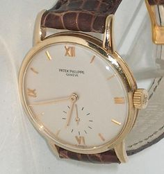 fd4eb6dcd97 Very Rare Men s Vintage Solid 18K Gold Patek Philippe Ref 1471 - Small  Seconds  PatekPhilippe