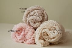 Fluffy Textured open weave cotton Newborn Wrap by greenearthstudio, $11.95