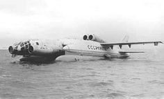 The Soviet Union wanted to use this bizarre plane to hunt American nuclear submarines Flying Ship, Flying Boat, Drones, P51 Mustang, Russian Military Aircraft, Russian Plane, Amphibious Aircraft, Nuclear Submarine, Ground Effects