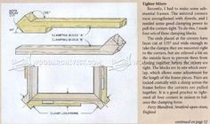#1060 Picture Frame Clamping Block - Clamp and Clamping