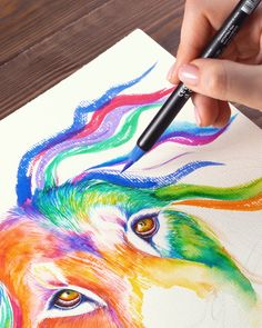 Bring your art marker ideas to life with a wide variety of highly pigmented, fade-resistant colors. With easy-to-grip, dual-tipped art markers, you can create a variety of designs - from abstract art…More Art Sketches, Art Drawings, Marker Art, Mandala Art, Painting Techniques, Painting Videos, Art Tutorials, Diy Art, Amazing Art