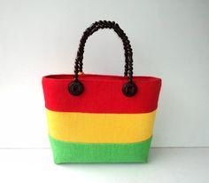 Native Bag Dahlia Rood-Geel-Groen