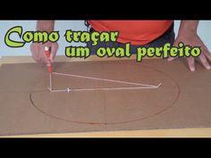 Como riscar um oval perfeito - YouTube