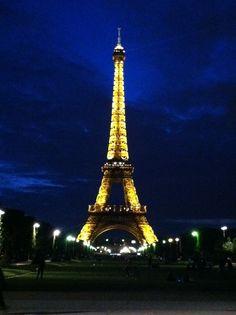 Eifel Tower, Paris, France.  iPhone