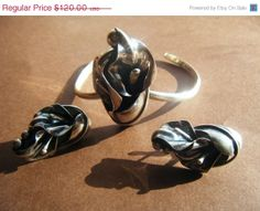 VINTAGE LILLY handmade Southwest sterling silver by SPRADY on Etsy, $48.00