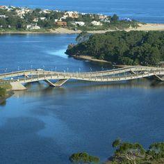 Puente le la barra. Uruguay