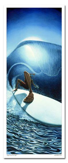 Surf Artist, Jay Alders.