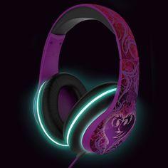 Kid Designs Descendents LightUp Over The Ear Headphones #DIM52DE