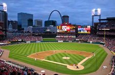 One day I will be able to go see the St. Louis Cardinals play and not be a rival against the home team