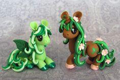 Nature Ponies by *DragonsAndBeasties on deviantART