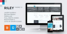 RILEY - Responsive MultiPurpose HTML5 Template :  Check out this great #themeforest item 'RILEY - Responsive MultiPurpose HTML5 Template' http://themeforest.net/item/riley-responsive-multipurpose-html5-template/7805604?ref=25EGY