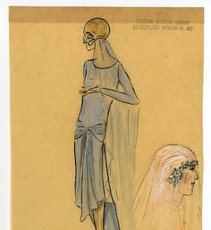 Wedding 1870-1929, Plate 065 :: Costume Institute Fashion Plates