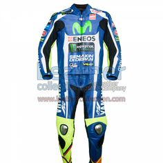 Free Shipping   Valentino Rossi Movistar Yamaha MotoGP 2016 Suit - https://www.leathercollection.com/en-we/valentino-rossi-movistar-yamaha-motogp-2016-suit.html