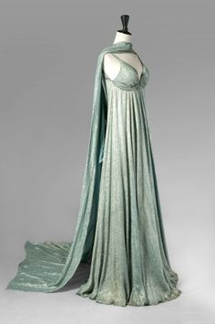 Callot Sœurs Haute Couture, n° circa 1930s Fashion, Moda Fashion, Retro Fashion, Vintage Fashion, Womens Fashion, Vestidos Vintage, Vintage Gowns, Vintage Outfits, Antique Clothing