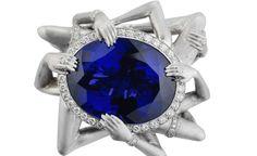 Los siete pecados capitales representados en anillos: la lujuria